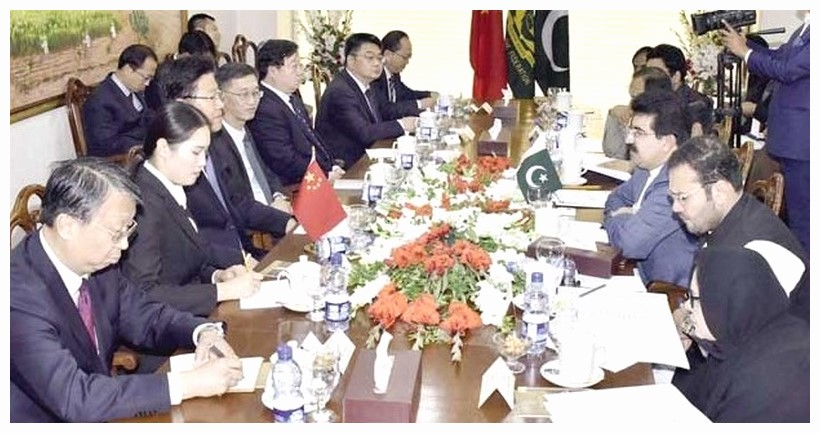 First round of Pak China talks on economic package Pakistan team leaves for China to finalise relief packag